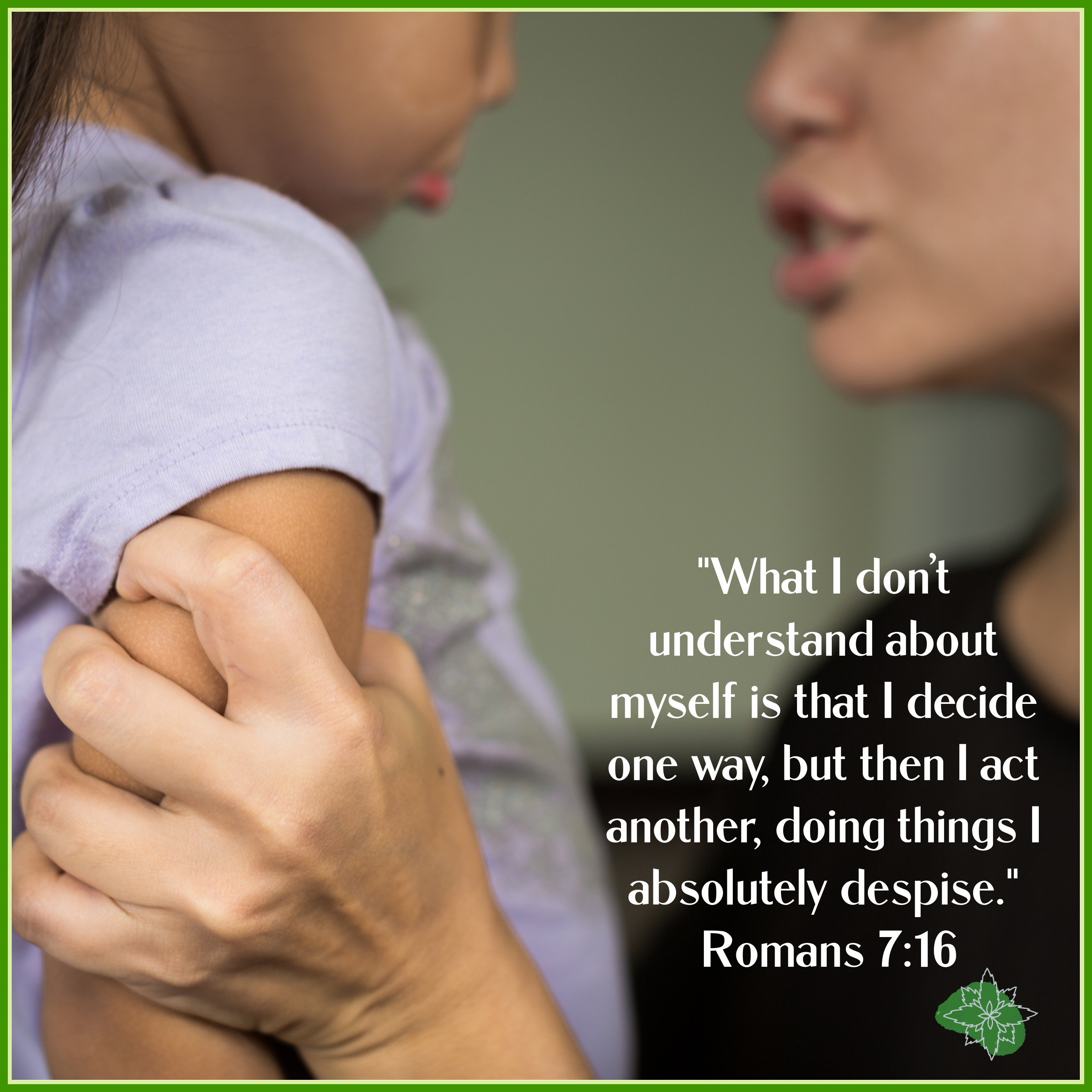 Romans 7:16 quote